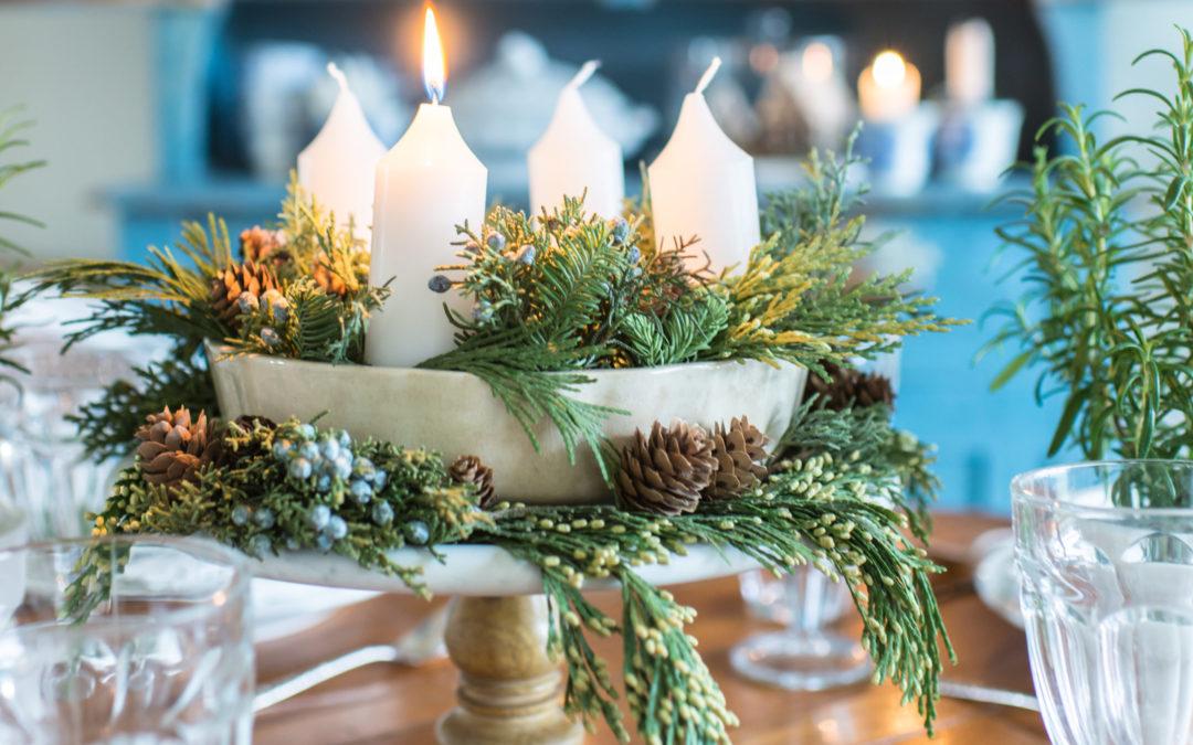 seasons of home | Christmas dining room