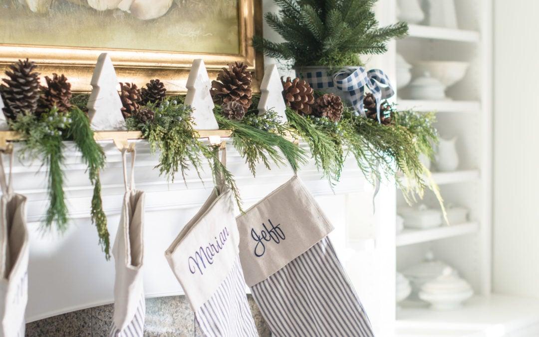 seasons of home | christmas living room