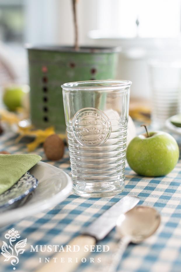 Seletti Esteticoglasses   fall dining room table decor   missmustardseed.com