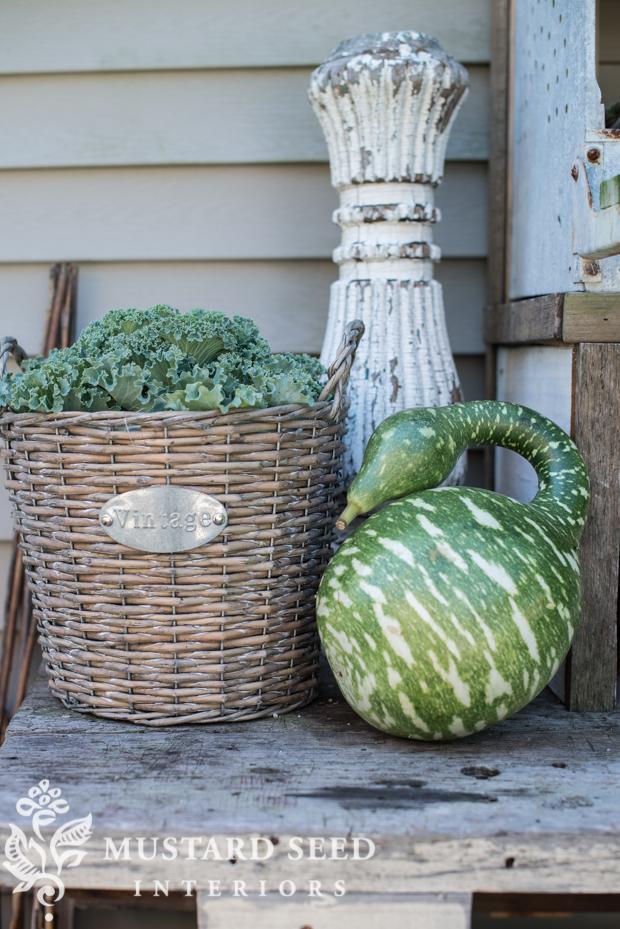 porch decorating ideas | farmhouse fall porch | missmustardseed.com