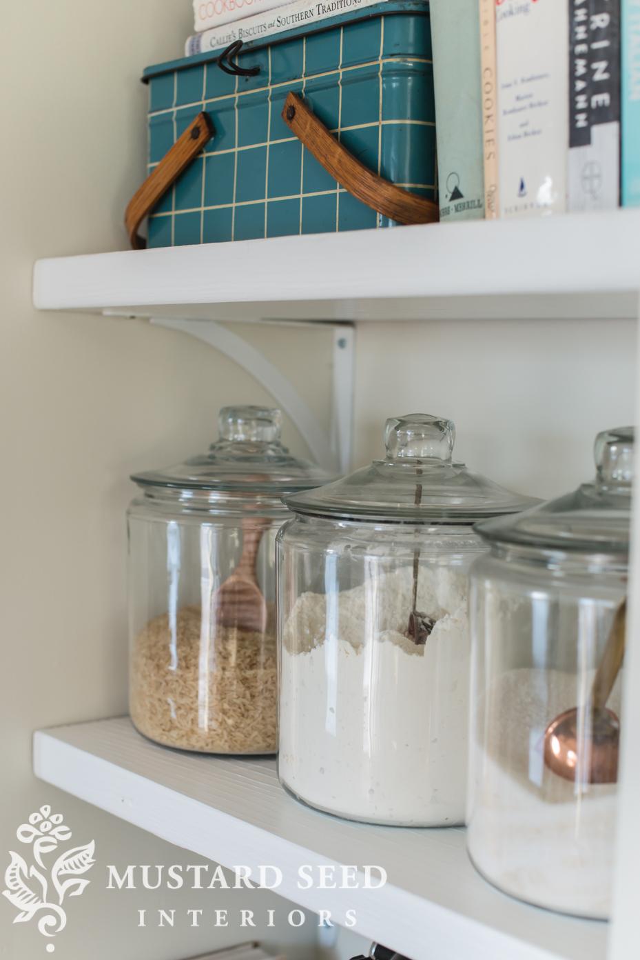 Open Kitchen Shelving Miss Mustard Seed
