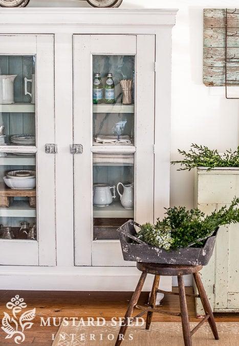 Farmhouse White Cupboard