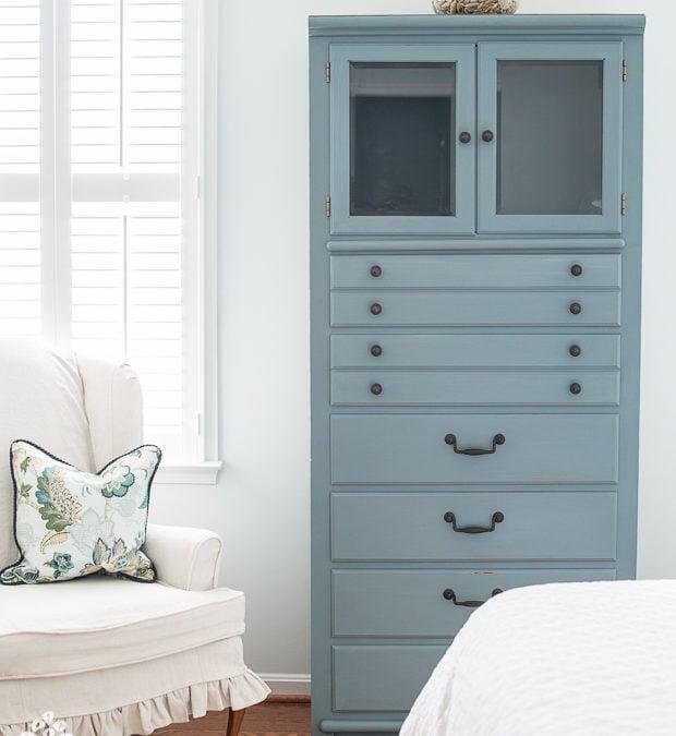 Kim's coastal bedroom | non-chippy milk paint