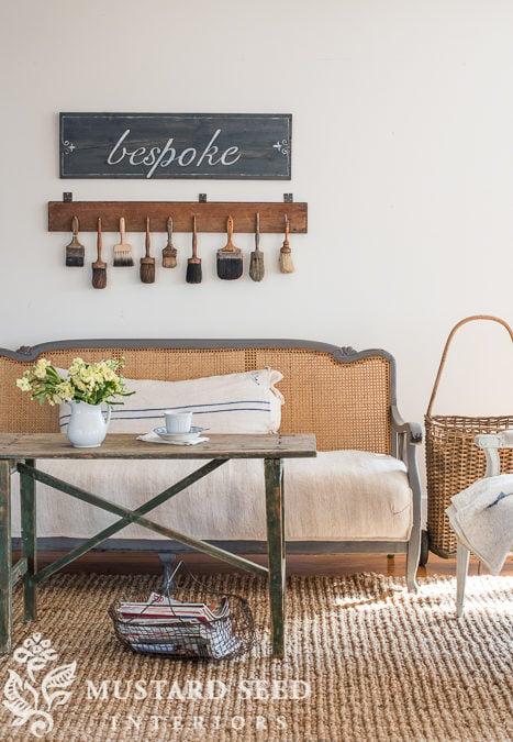 """say hello to """"schloss""""   sofa makeover"""