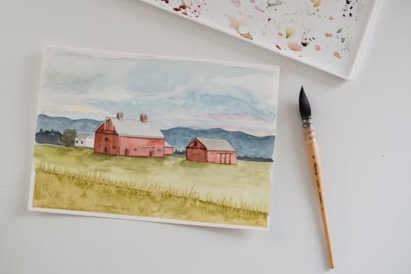the Kalispell barn