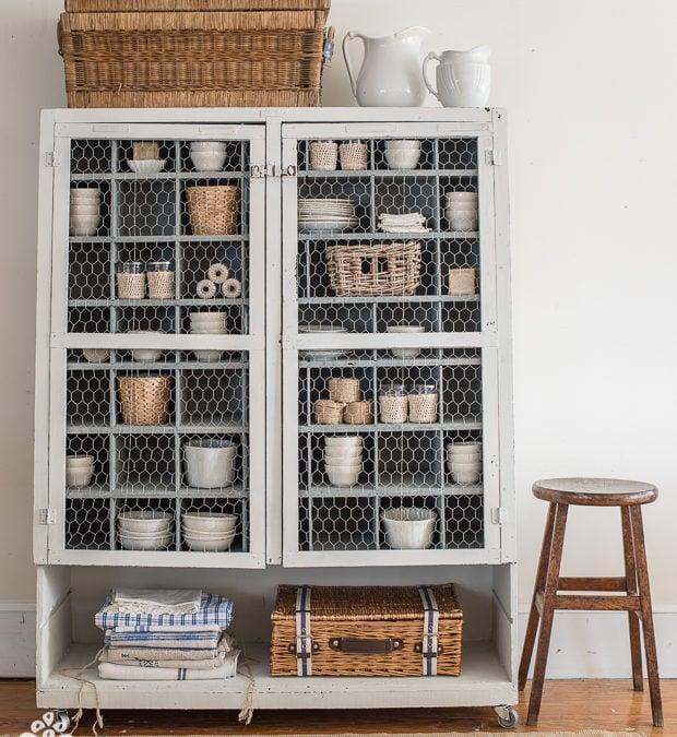 hardware cabinet no. 1 makeover
