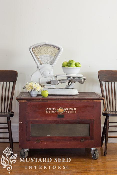antique chicken incubator | miss mustard seed
