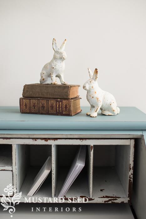 cast iron bunnies   miss mustard seed