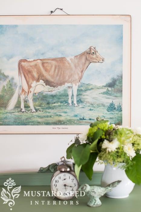 cow print   miss mustard seed