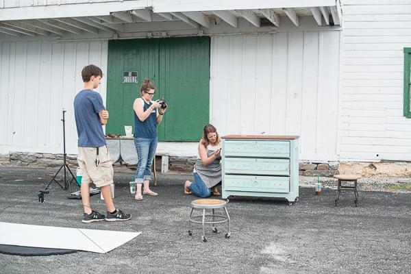 behind the scenes | producing videos