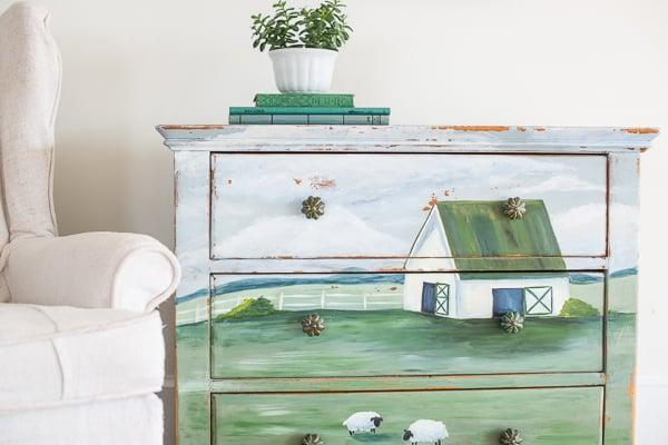 soft landscape dresser | reveal