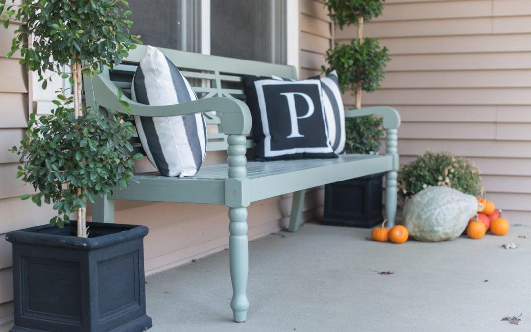 Seasons of Home | Fall Porch