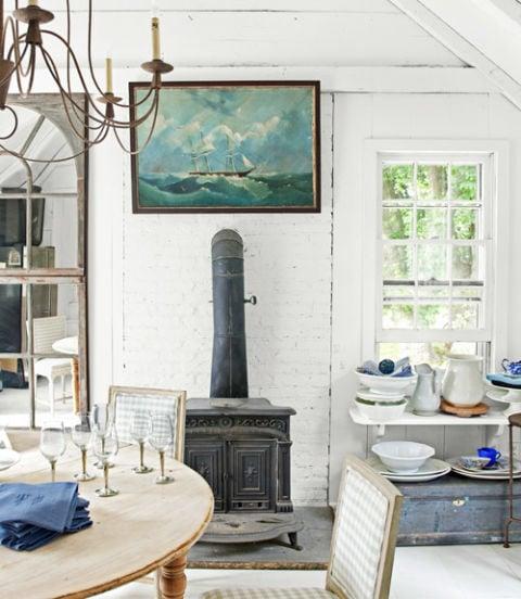 decorating dilemma | a wood stove